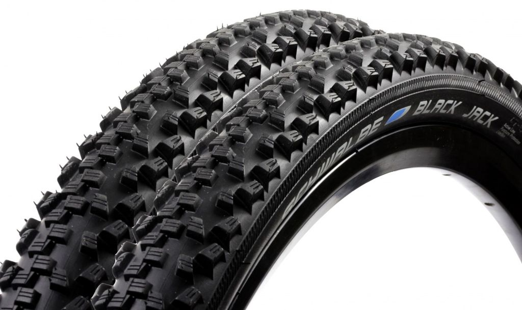 Schwalbe Black Jack Mountain Bike Tyre 26 x 1.9 2.0 Trail MTB KevlarAntiPuncture